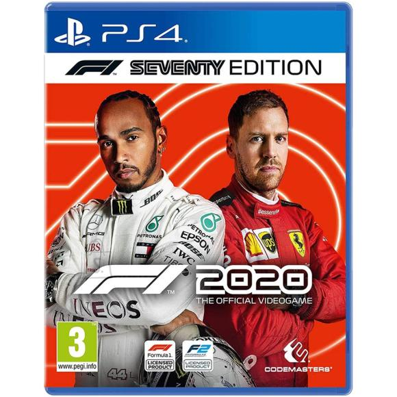 Codemasters PS4 mäng F1 2020 Seventy Edition