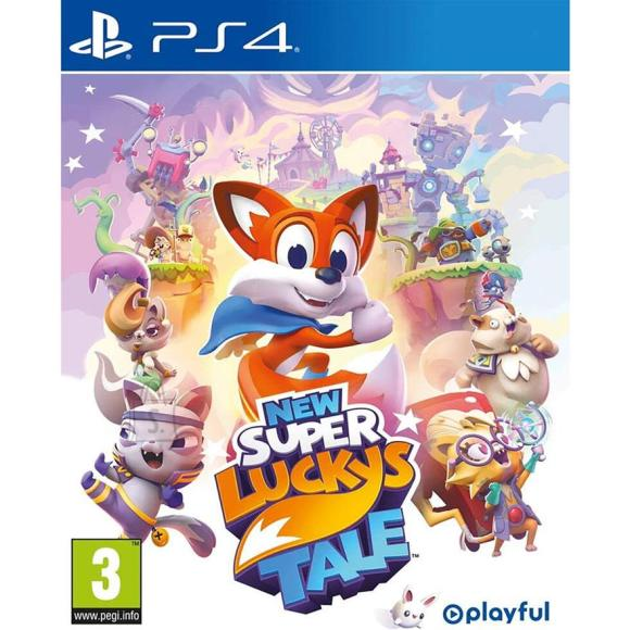 PS4 mäng New Super Lucky's Tale