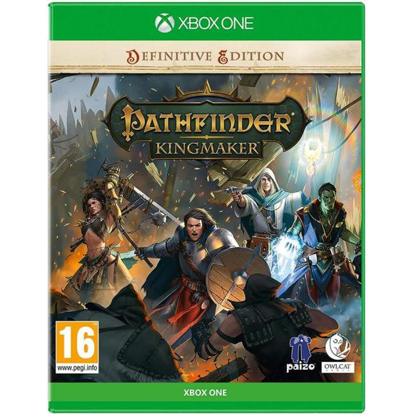 Deep Silver Xbox One mäng Pathfinder: Kingmaker Definitive Edition