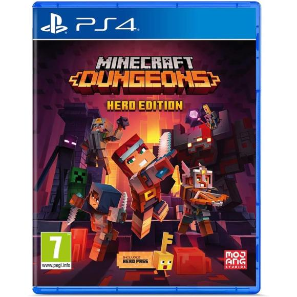 Microsoft PS4 mäng Minecraft Dungeons Hero Edition (eeltellimisel)