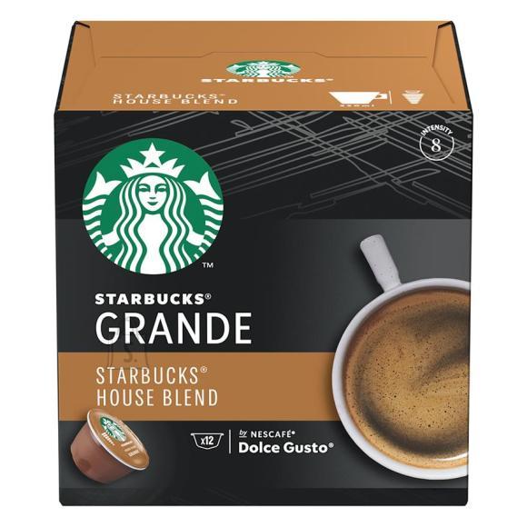 Kohvikapslid Starbucks Nescafe Dolce Gusto House Blend