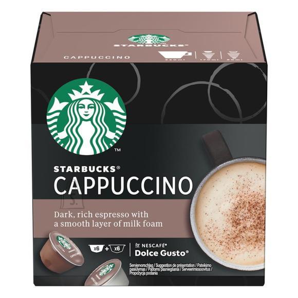 Kohvikapslid Starbucks Nescafe Dolce Gusto Cappuccino