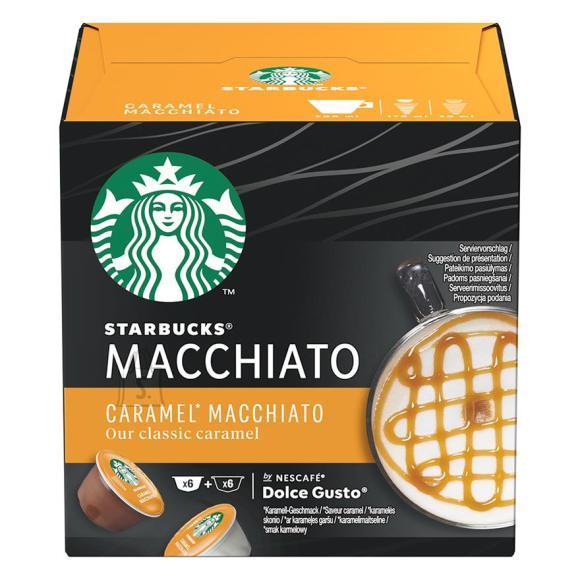 Kohvikapslid Starbucks Nescafe Dolce Gusto Caramel Macchiato
