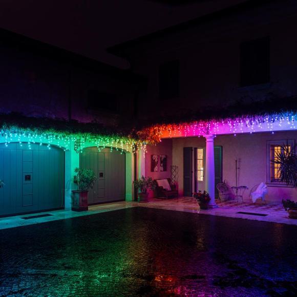 Nutikad jõulutuled Twinkly Icicle Special Edition 190 RGB+W LEDs (Gen II)
