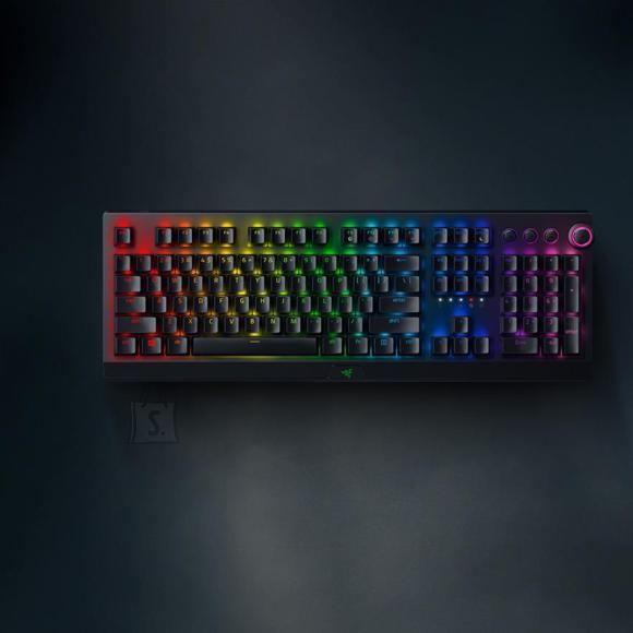 Razer Juhtmevaba klaviatuur Razer BlackWidow V3 Pro Green Switch (SWE)