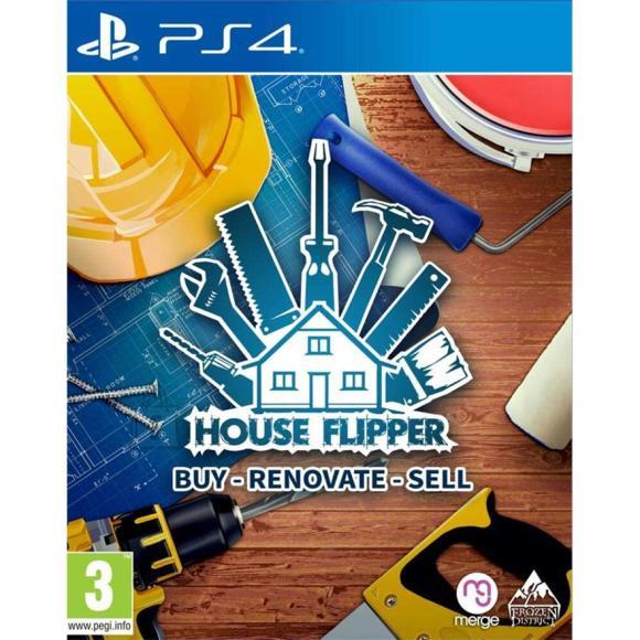 PS4 mäng House Flipper
