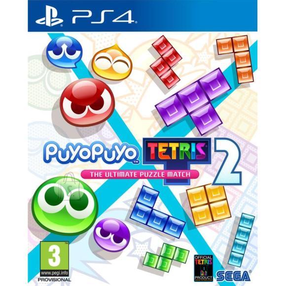 Sega PS4 mäng Puyo Puyo Tetris 2 Launch edition