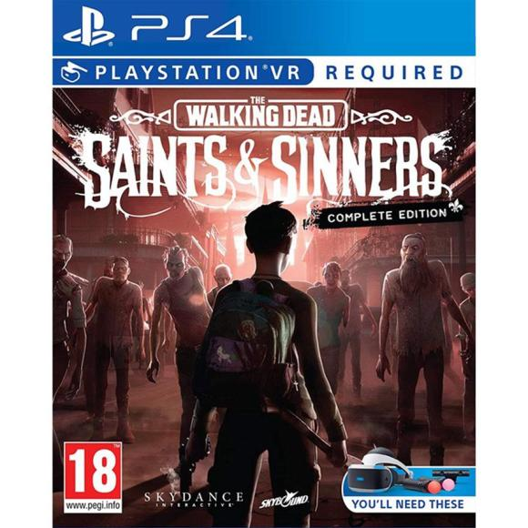 PS4VR mäng The Walking Dead: Saints and Sinners