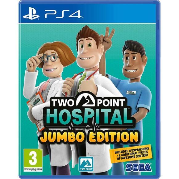 Sega PS4 mäng Two Point Hospital Jumbo Edition