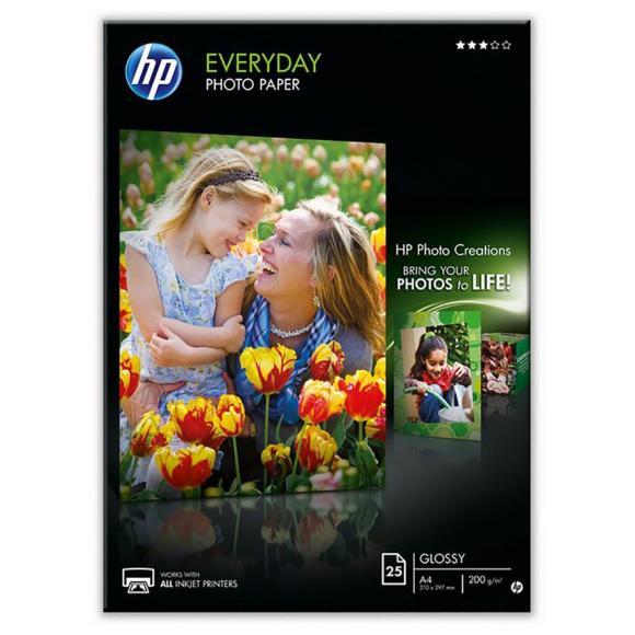 HP Fotopaber Everyday A4 HP (25 lehte)
