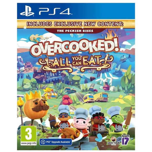PS4 mäng Overcooked! All You Can Eat