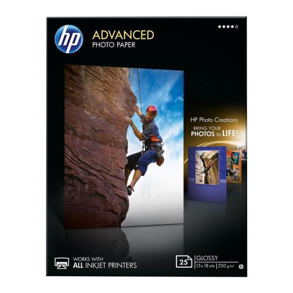 HP Fotopaber HP Advanced Glossy 13 x 18 (25 lehte)