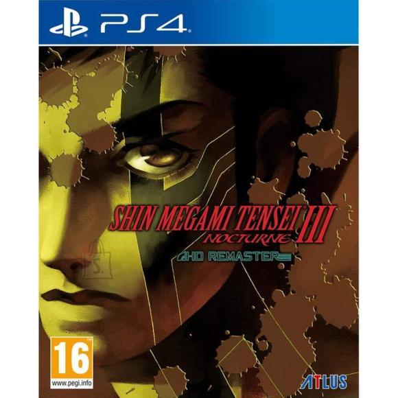 Atlus PS4 mäng Shin Megami Tensei III: Nocturne HD Remaster