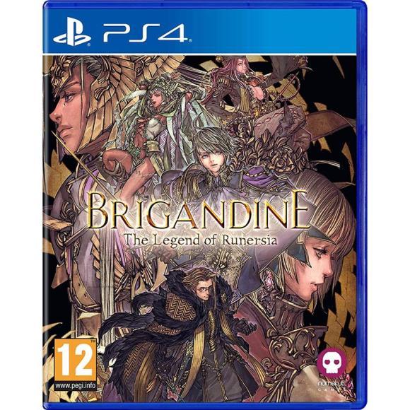 PS4 mäng Brigandine: The Legend of Runersia