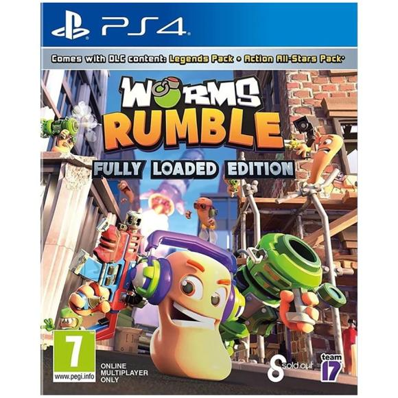 PS4 mäng Worms Rumble