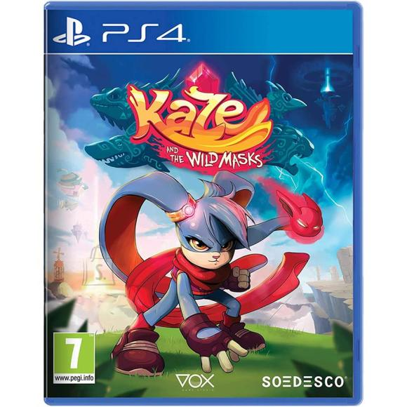 PS4 mäng Kaze and the Wild Masks