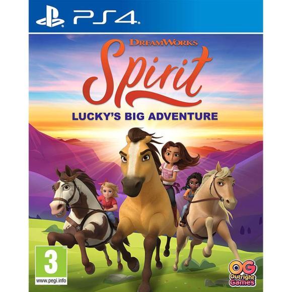 PS4 mäng Spirit: Lucky's Big Adventure