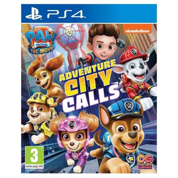 PS4 mäng Paw Patrol: Adventure City Calls
