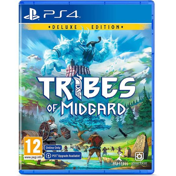 PS4 mäng Tribes of Midgard Deluxe Edition