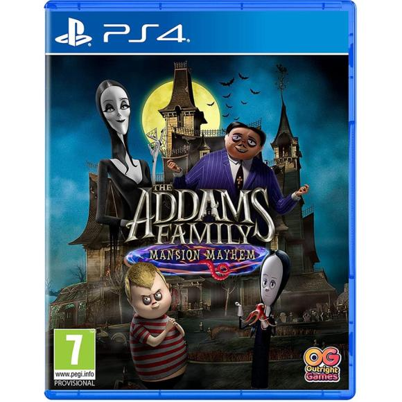 PS4 mäng The Addams Family: Mansion Mayhem