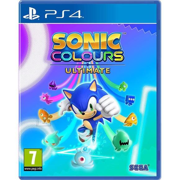 Sega PS4 mäng Sonic Colours Ultimate