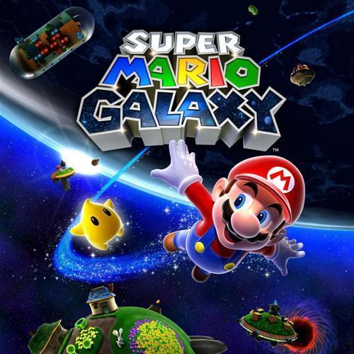 Nintendo Nintendo Wii mäng Super Mario Galaxy