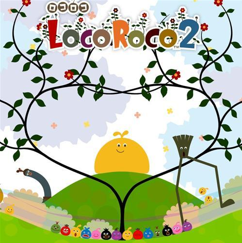Sony PlayStaton Portable mäng LocoRoco 2