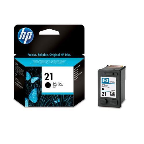 HP Tindikassett HP Nr21,must