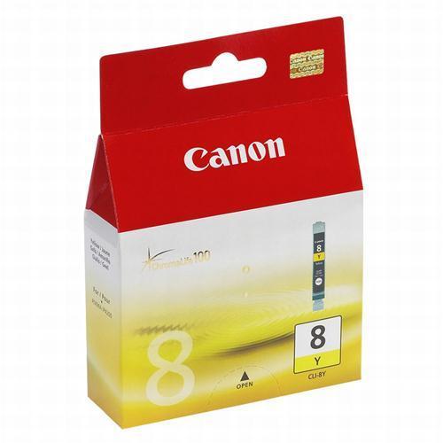 Canon Tindikassett CLI8Y kollane, Canon