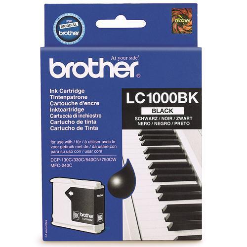 Brother LC-1000BK tindikassett must