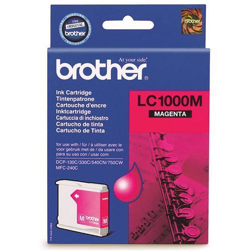 Brother LC-1000M tindikassett magenta