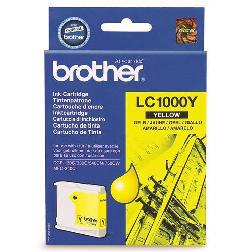 Brother LC-1000Y tindikassett kollane