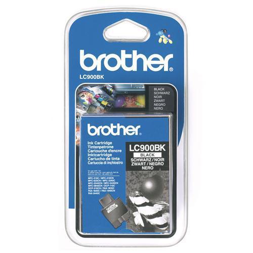 Brother LC-900BK tindikassett must