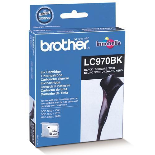 Brother LC-970BK tindikassett must