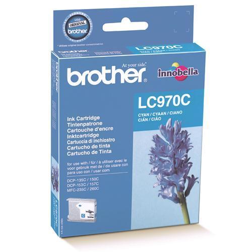 Brother LC-970C tindikassett tsüaan