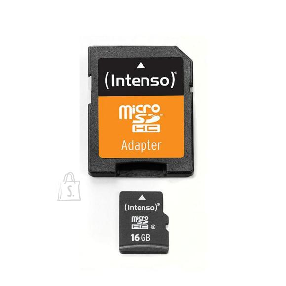 Intenso Mäluk. Intenso SD Micro 16GB HC Cl10