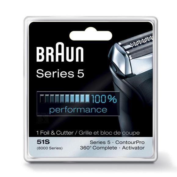 Braun varuvõrk + tera 51S