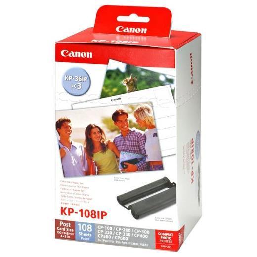 Canon värvitintide ja paberi komplekt KP-108IP