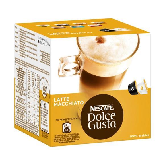 Nestle Kohvikapslid Dolce Gusto Latte Macchiato, Nestle