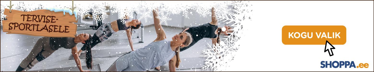Jõulukingid tervisesportlasele