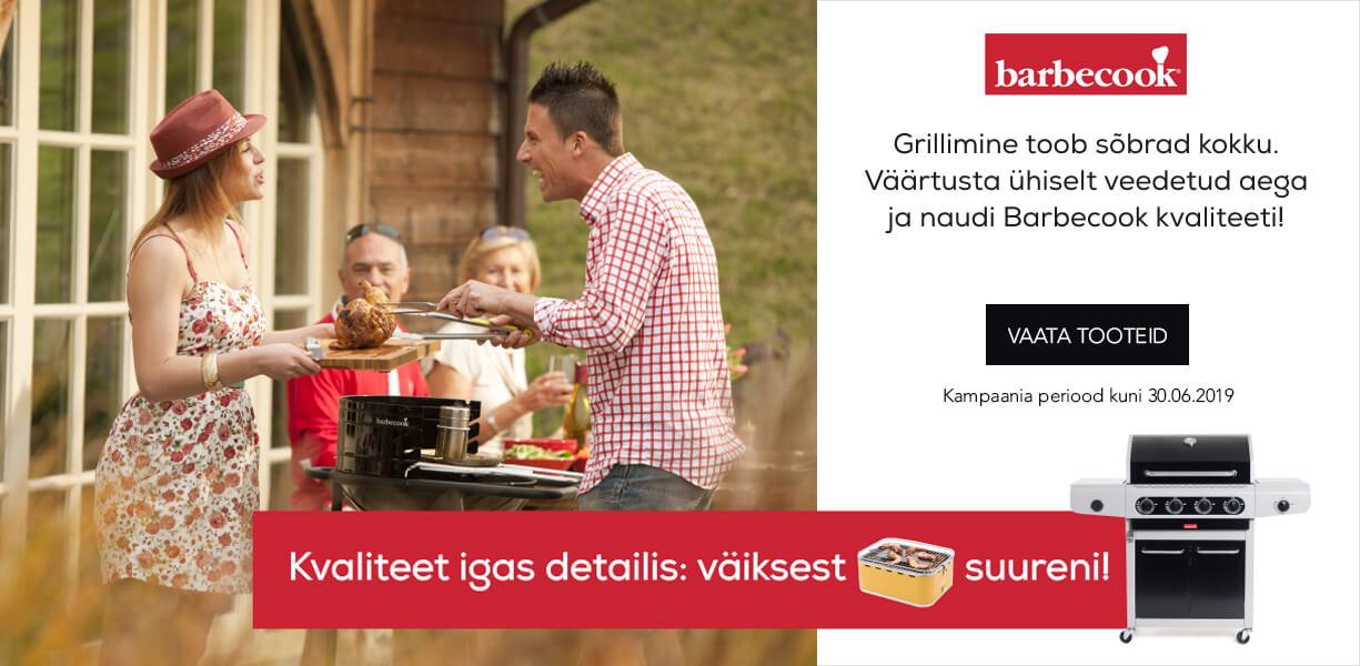 Barbecook - Kvaliteet igas detailis: väikesest suureni!