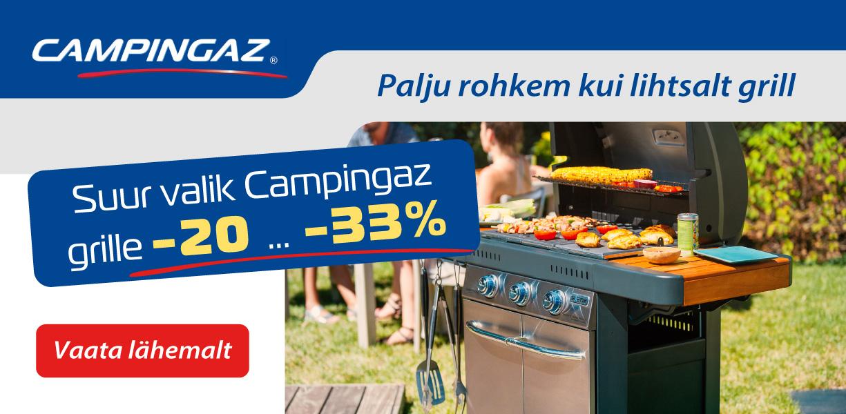 Campingaz - Palju rohkem kui lihtsalt grill