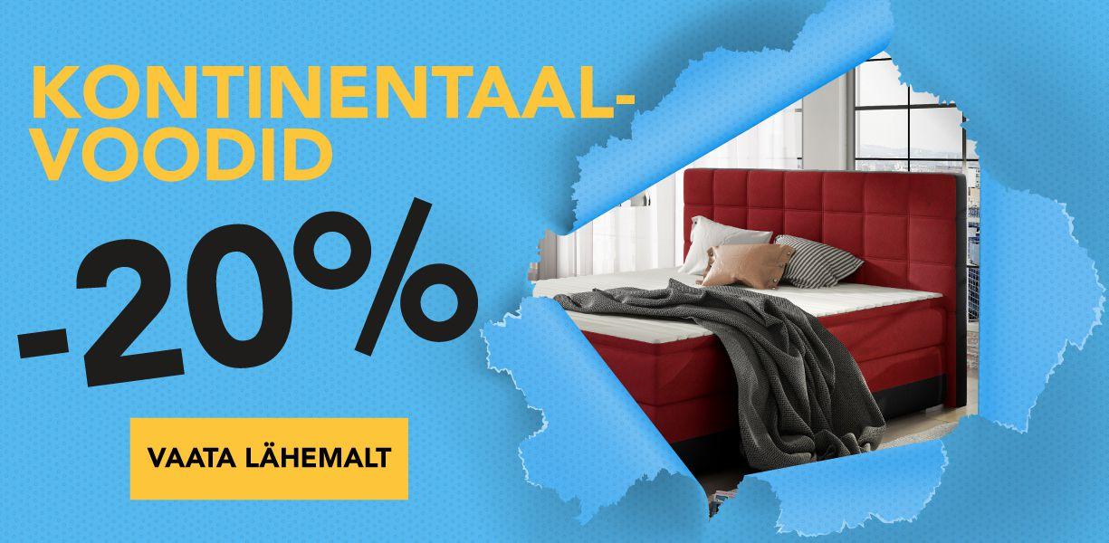 Kontinentaalvoodid -20%