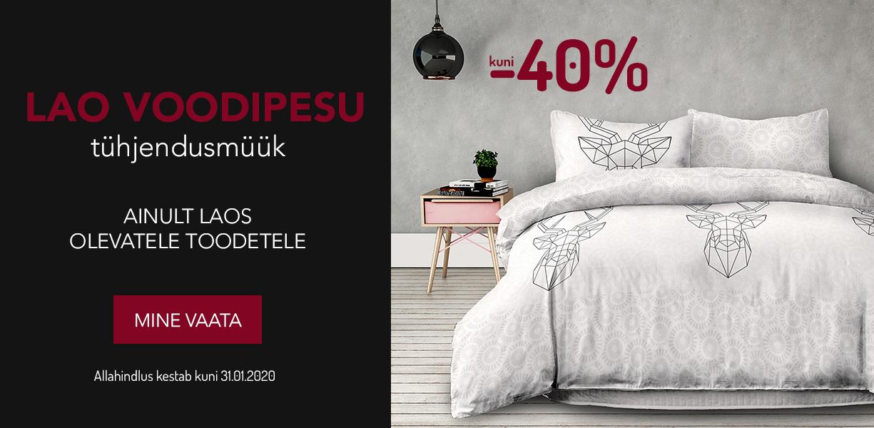 Lao voodipesu tühjendusmüük. kuni -40%