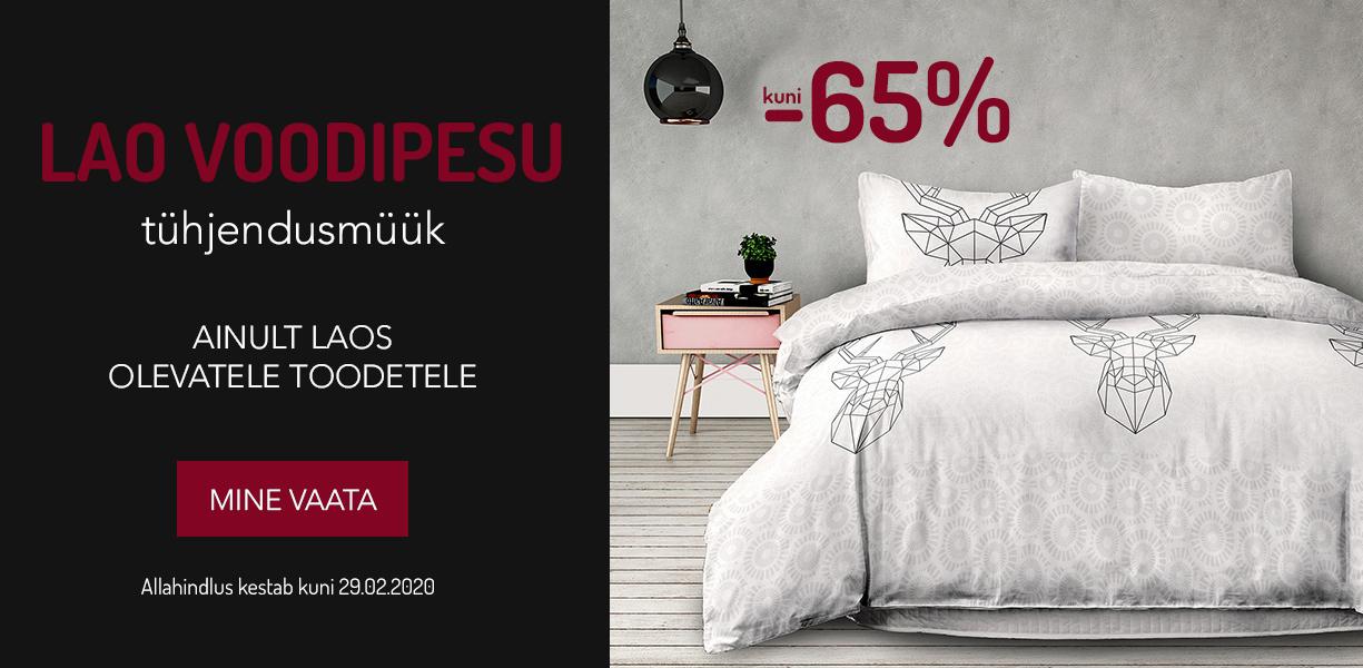 Lao voodipesu tühjendusmüük. kuni -65%