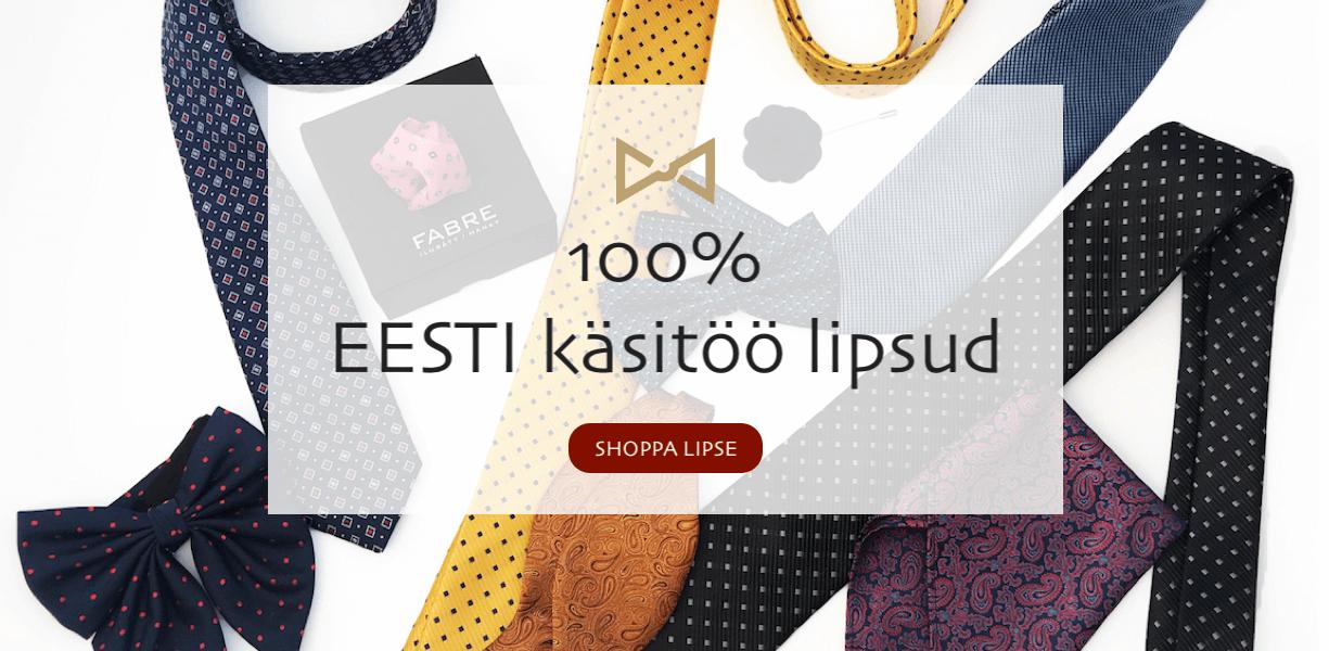 100% Eesti käsitöö lipsud