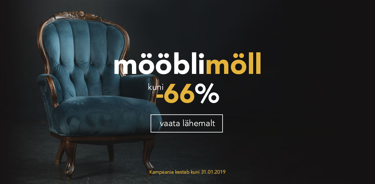 Mööblimöll kuni -66%