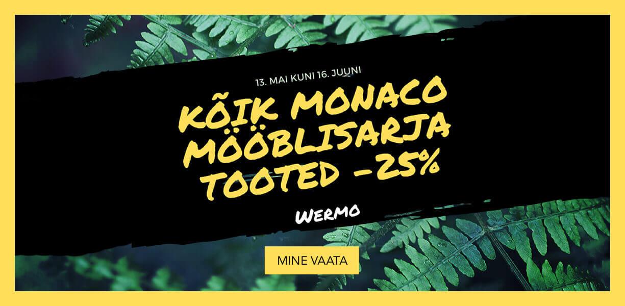Kõik Monaco Mööblisarja tooted -25%